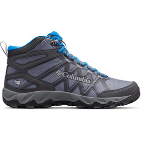 Columbia Peakfreak X2 Outdry Mid Shoes Men graphite/blue jay